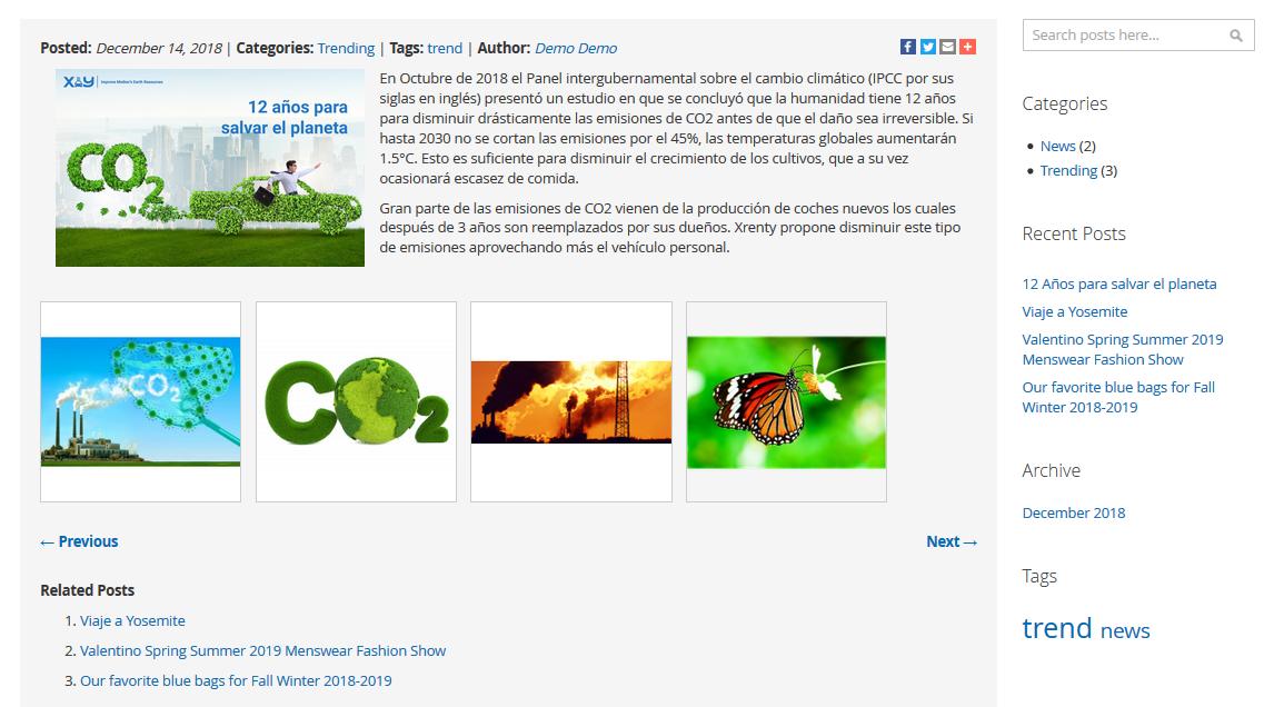 Magento 2 Blog Widgets