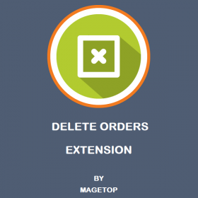 Magento 2 Delete Orders Extension