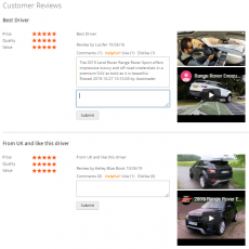 Users Can Reply the Customers' Reviews