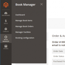 Booking backend manager