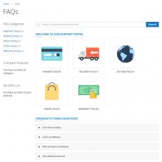 Magento 2 FAQ Page