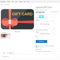 Magento 2 Gift Card Workflow At Frontend