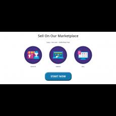 Marketplace Landing Page