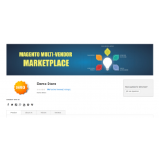 Marketplace Seller Profie Landing Page