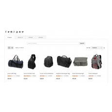 Marketplace Seller Products Landing Page