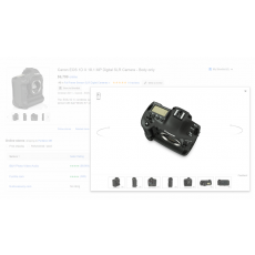 Zoom-in & out Product Images with Mouse Buttons
