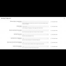 Reward Points Spending Configuration