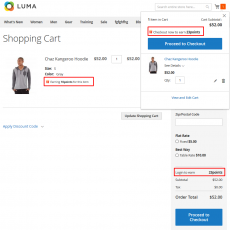 Redeem Points for Discounts on Checkout Cart Page