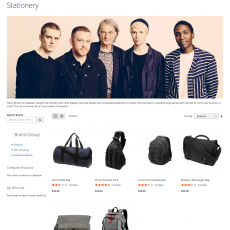 Magento 2 Shop By Brand Detail Page