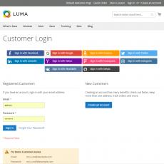 Magento 2 Social Login In Customer Login Page