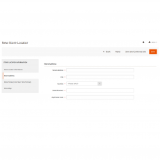 Magento 2 Store Locator Address