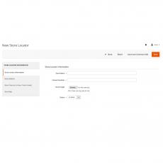 Magento 2 Store Locator Information