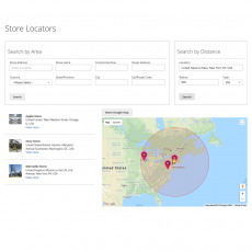 Magento 2 Search Store Locator