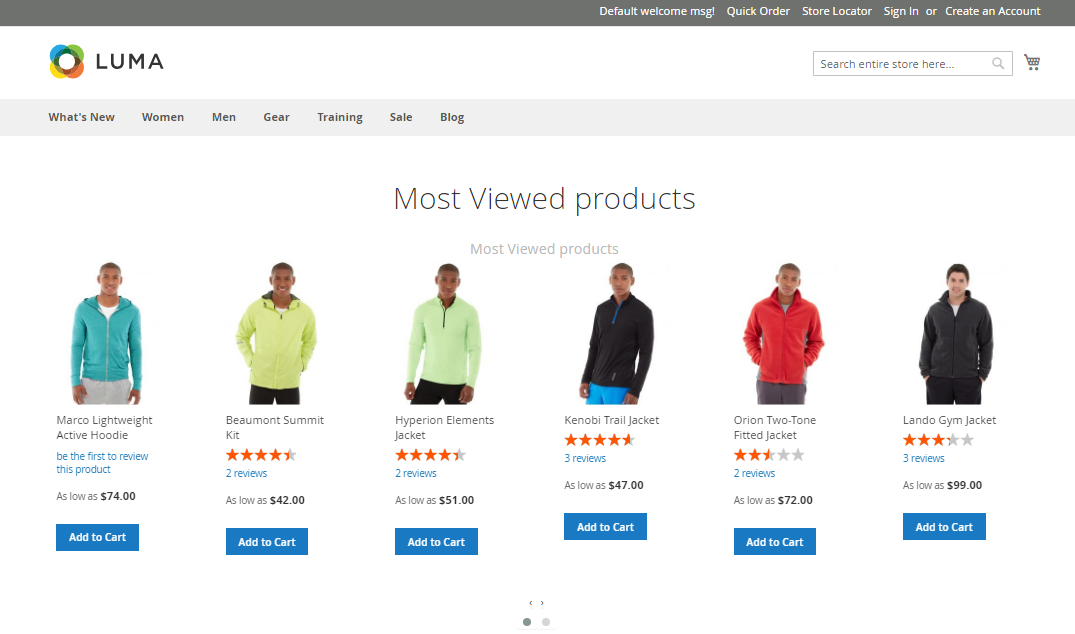 Magento 2 Product Slider Insert Product Slider Anywhere