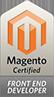 Magento badge cert frontend
