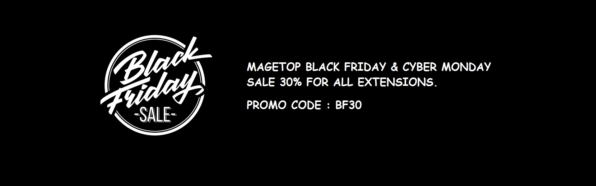 Magetop Black Friday